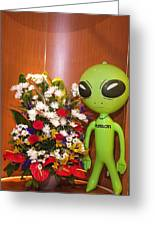 Do Aliens Get Hay Fever Greeting Card