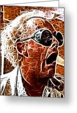 Doc Brown Mistical Greeting Card