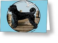 Dock Dog  Greeting Card