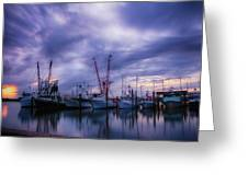 Dock Of Bay Greeting Card