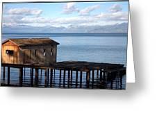 Dock Of Dreams South Lake Tahoe Ca Greeting Card