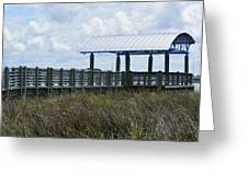 Dock On The Bay 3 Greeting Card