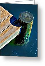 Dock Greeting Card by Robert Smith