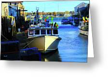 Docked Greeting Card