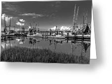 Docked II Greeting Card