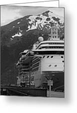 Dockside In Skagway Greeting Card