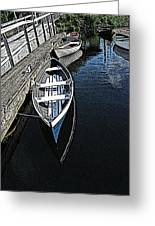Dockside Quietude Greeting Card