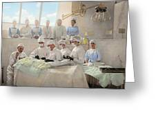 Doctor - Operation Theatre 1905 Greeting Card