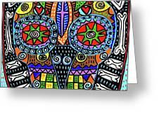 Dod Art 123bg Greeting Card