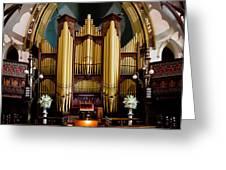 Dodd Pipe Organ Kent Town Adelaide Greeting Card