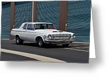 Dodge 330 Greeting Card