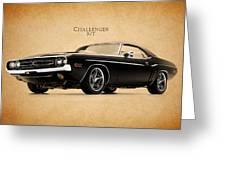 Dodge Challenger Greeting Card