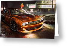 Dodge Challenger R T Greeting Card