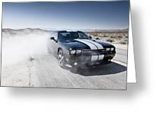 Dodge Challenger Srt8 Greeting Card