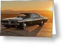 Dodge Charger - 01 Greeting Card