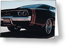 Dodge Charger - 04 Greeting Card