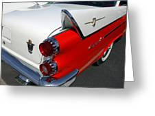 Dodge Coronet Tail Fin Greeting Card