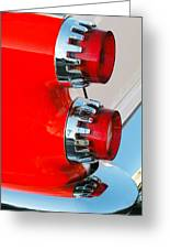 Dodge Coronet Taillight Greeting Card
