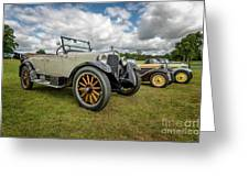 Dodge Four Tourer Greeting Card