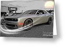Dodge Hellcat Greeting Card