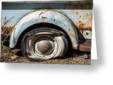 Dodge Pickup - Flat Tire Greeting Card