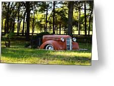 Dodge Ram Yard Art 2 Greeting Card