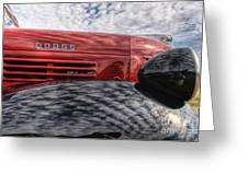 Dodge Truck Greeting Card
