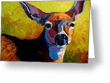 Doe Portrait V Greeting Card