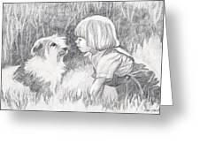 Dog Whisperer Greeting Card