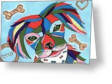 Doggie Dreams - Cute Animals Greeting Card