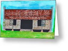 Dogtrot Cracker Home  Greeting Card