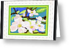 Dogwood In Bloom Greeting Card
