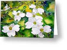 Dogwood Tree Flowers Greeting Card