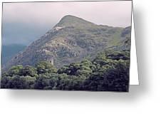 Dolbadarn Castle Close To Llanberis Pass Greeting Card