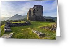 Dolbadarn Castle Greeting Card