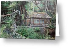 Dolby Water Wheel Greeting Card