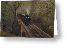 Dolgoch Viaduct Greeting Card