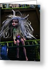 Doll X2 Greeting Card