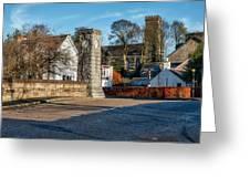 Dollar Town In Scotland Greeting Card