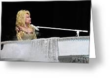 Dolly At The Pianao Greeting Card