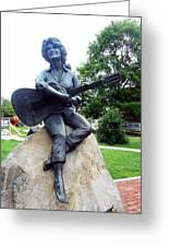 Dolly Pardon Statue 2 Greeting Card