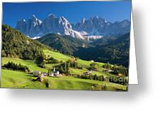 Dolomites, Italy #3 Greeting Card