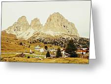 Dolomites, Italy Greeting Card