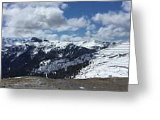 Dolomites Greeting Card