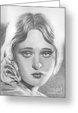 Dolores Costello Greeting Card