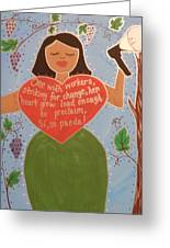 Dolores Huerta Greeting Card