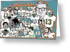 Dolphins Ring Of Honor Greeting Card by Gary Niles