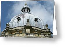 Dome In The Clouds Greeting Card