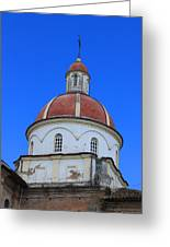 Dome On A Church Greeting Card