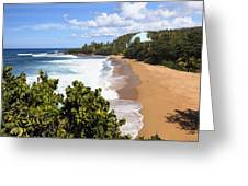 Domes Beach Rincon Puerto Rico Greeting Card by George Oze